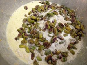 Add pistachios
